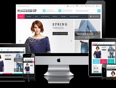 diseño de pagina web lima, responsive design lima